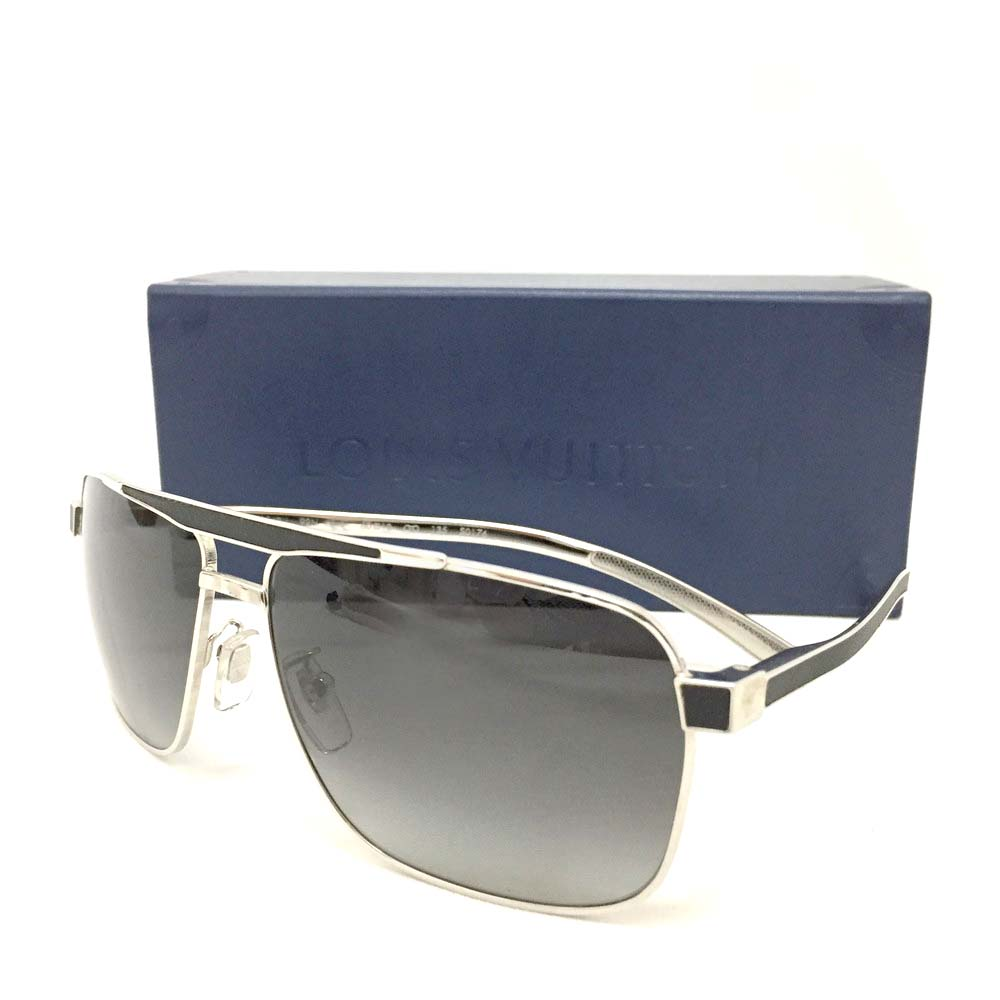 c413f42034 New Louis Vuitton Persuasion Carre Z0548U Square Mens Sunglasses   3512