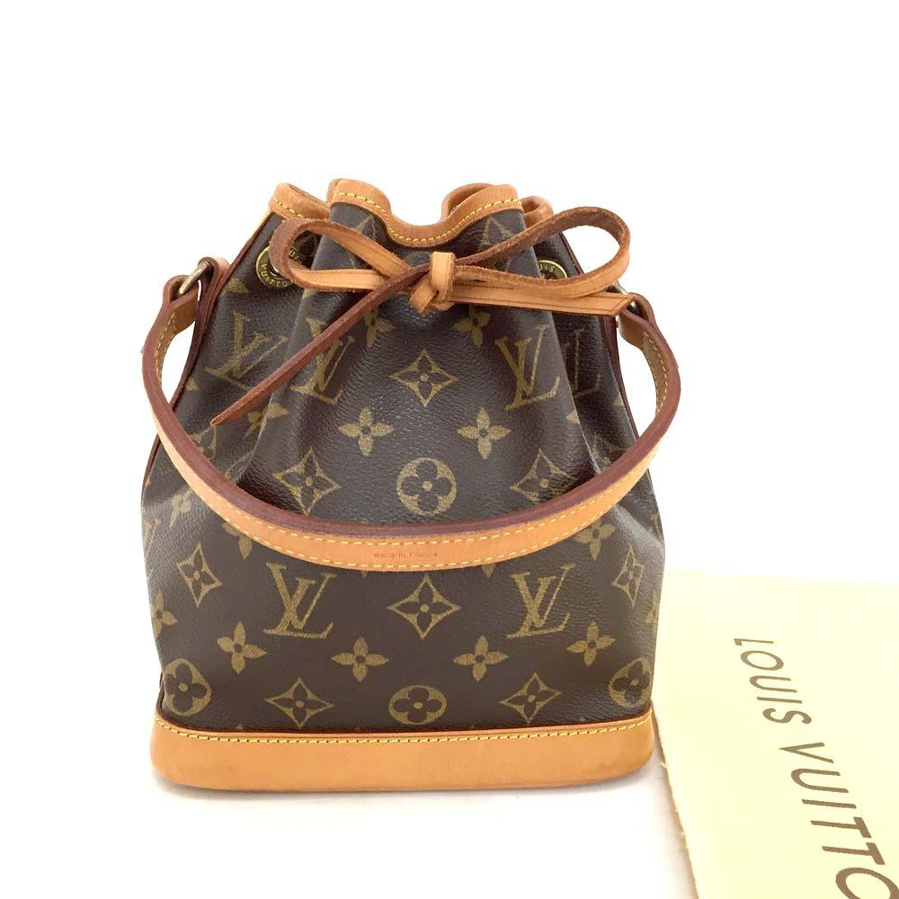 14b8396eb3cc 100% Authentic Louis Vuitton Monogram Mini Noe Shoulder Bag  3547