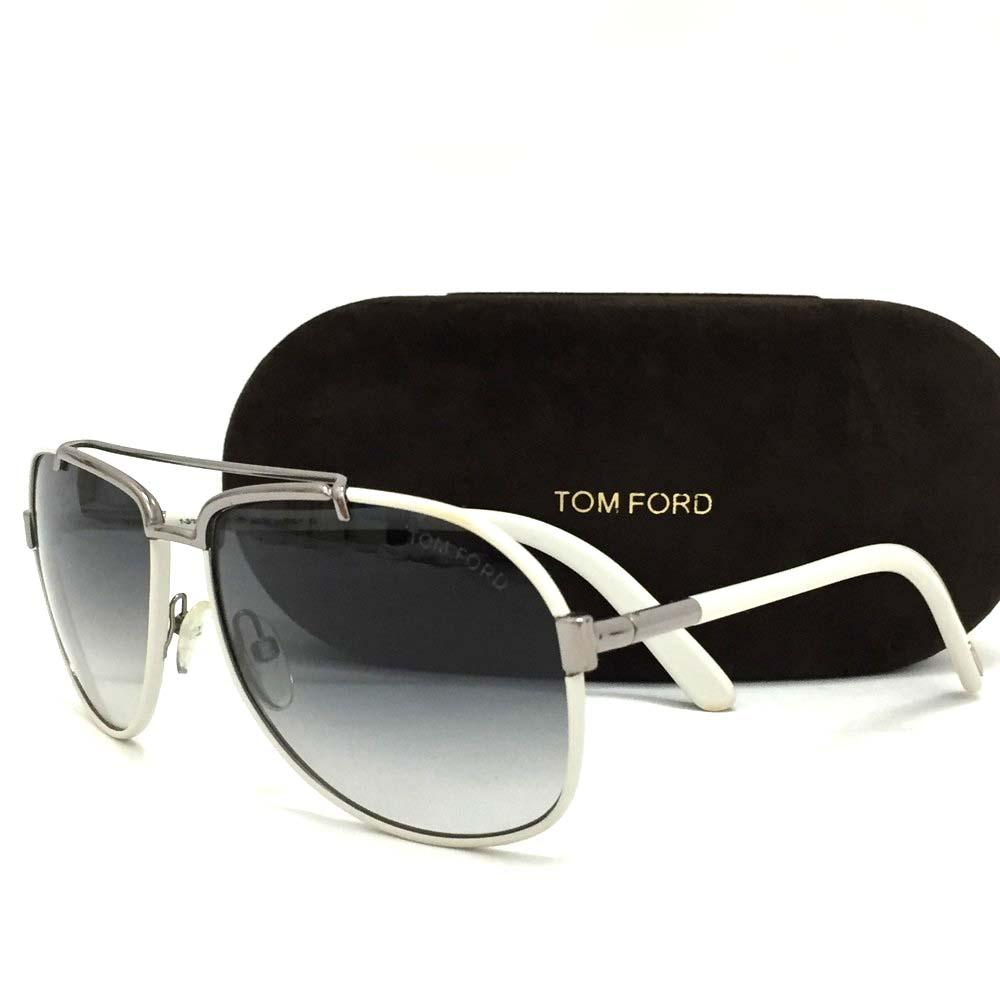 e1e0cbc9c8d6 100% Authentic TOM FORD Miguel TF148 14W White Flame Sunglasses  3570
